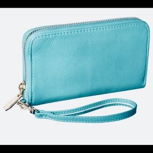 Turquoise/Blue Wallet
